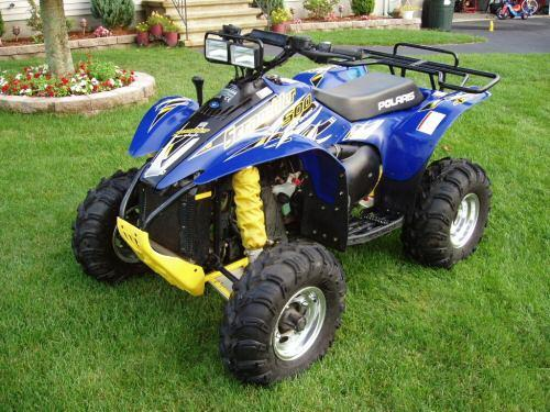 Product picture 2009 Polaris Scrambler 500 ATV Workshop Repair Service Manual BEST DOWNLOAD